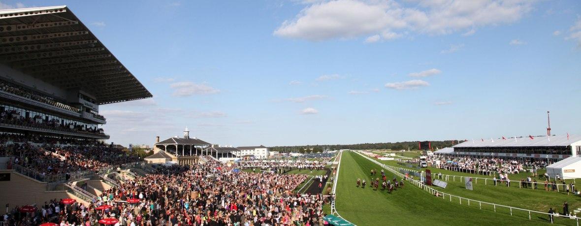 racecourse banner